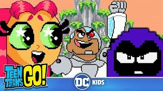 Teen Titans Go! | Top 10 Video Game References |  DC Kids
