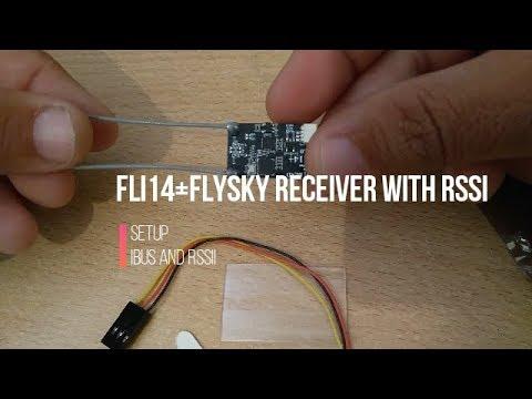 Fli14 Receiver (Flysky Compatible),step by step ibus and rssi setup