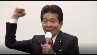 孤軍奮闘する、日本のこころ中野正志代表