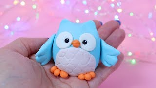 How To Make Fondant Owl Cake Topper Tutorial!