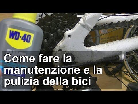 Come fare la manutenzione e la pulizia della bici TUTORIAL