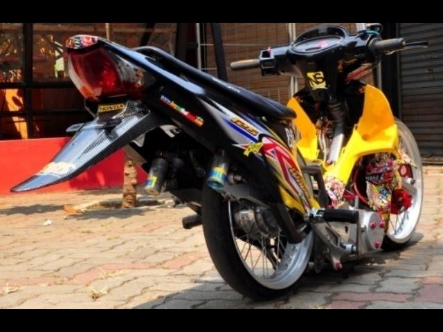 Video Motor Trend Modifikasi Video Modifikasi Motor Honda Karisma