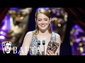 Download Video Emma Stone Wins Leading Actress | BAFTA Film Awards 2017