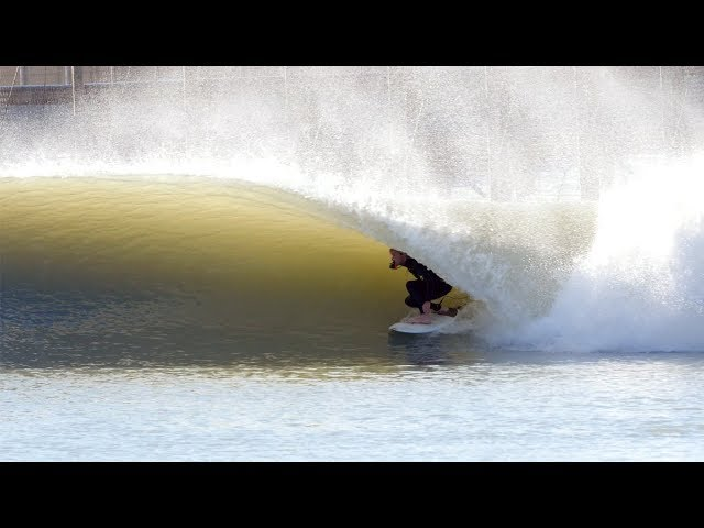 SURFING the KELLY SLATER WAVE POOL