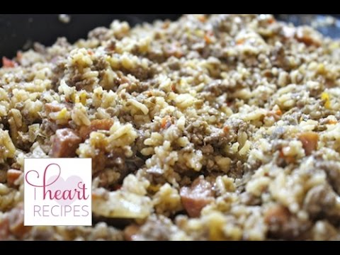 Homemade Dirty Rice Recipe | I Heart Recipes