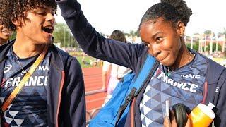 Boras 2019 : Gemima Joseph félicitée par les Bleuets