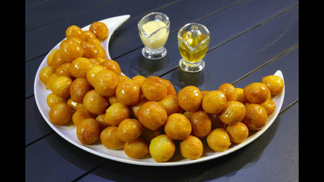 Dumplings with custard