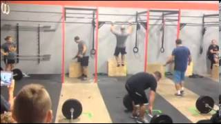 Crossfit Cheating (AT A CHARITY EVENT!)- Tom Ragusa and Adam Kesler