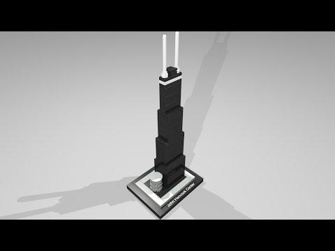 Vidéo LEGO Architecture 21001 : John Hancock Center