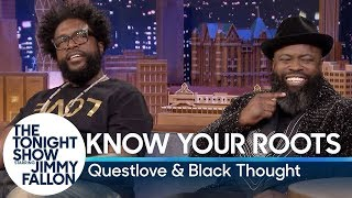 "Know Your Roots with Questlove and Tariq ""Black Thought"" Trotter"