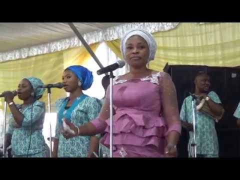 TOPE ALABI AND WOLI AGBA ON STAGE