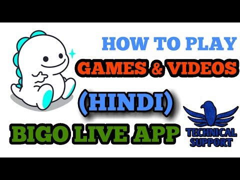 How To Play Games And Videos In Bigo Live App. Mp3