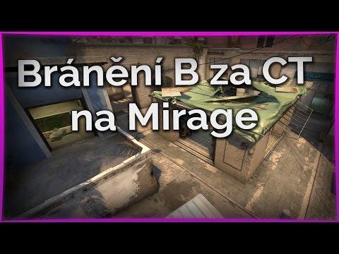 Bránění B za CT na Mirage