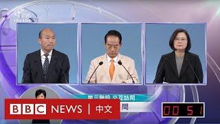 台灣大選:總統選舉電視辯論(下)- BBC News 中文