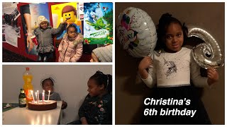 CHRISTINA'S 6TH BIRTHDAY & FIRST TIME AT THE CINEMA|MrsSilviaAndKids
