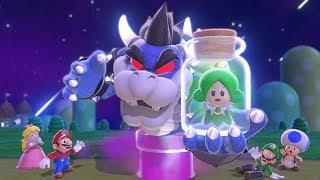 Super Mario 3D World - Dark Bowser Boss Battle