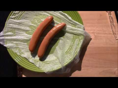 How to make a hot dog in the microwave