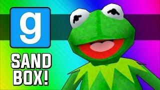 Gmod: Frogger! (Garry's Mod Sandbox Funny Moments)