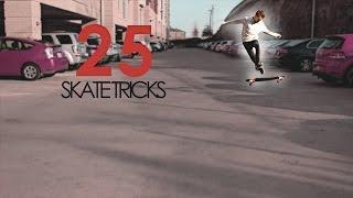 25 Skate Tricks (ON A LONGBOARD)