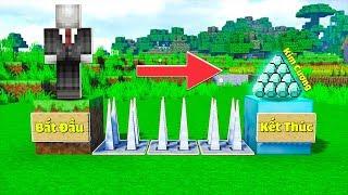 GIẢI MÃ THÀNH CÔNG MAP PARKOUR CỦA TRẺ TRÂU 7 TUÔI TRONG MINECRAFT | Thử Thách SlenderMan
