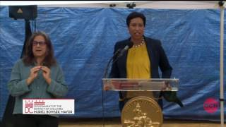 Mayor Bowser Breaks Ground on      Short-Term Family Housing