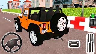माई हॉलिडे कार | ग्रीन स्पोर्ट कार, ऑरेंज जीप ड्राइविंग | एंड्रॉइड गेमप्ले