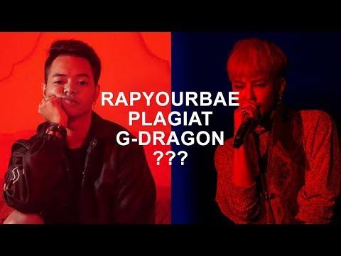 RAPYOURBAE - KING(Of Tale) Plagiat G-DRAGON - BULLSHIT? Song comparison