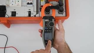 HT9023 Registrazione parametri elettrici nel tempo