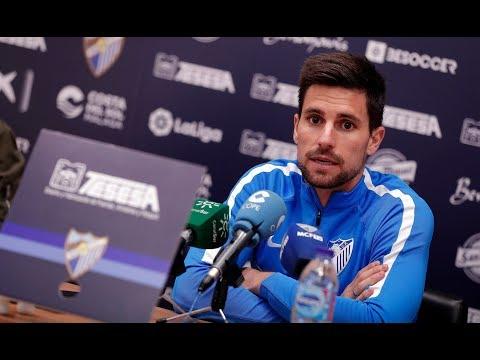 """Adrián destaca que el Málaga """"está en el camino del objetivo marcado"""""""