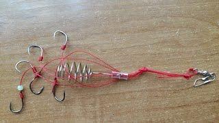 Крючки с кормушкой для рыбалки