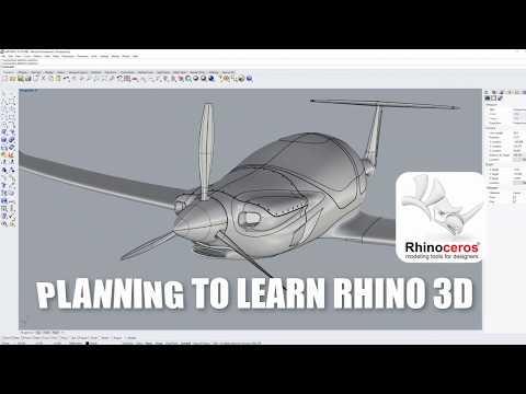 Rhino Tutorials- BEGINNER Course - YouTube
