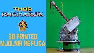 Thor Ragnarok: 3D Printed Mjolnir Replica- Chris' Custom Collectables!