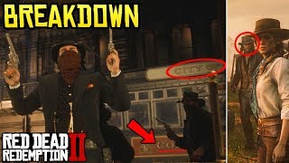 Red Dead Redemption 2 Trailer #3 BREAKDOWN - Everything You Missed & Didn't See!