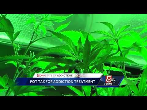Sheriffs want tax hike on legal pot for addiction treatment