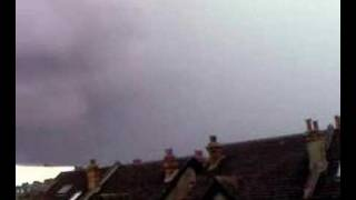 preview picture of video 'Lightning strikes South Woodford - June 23 2007'