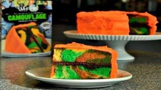 Duff Goldman™ How To Make A CAMOUFLAGE CAKE
