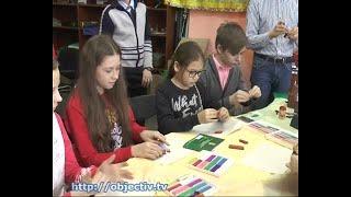 Юные мультипликаторы создали мультфильм о Харькове