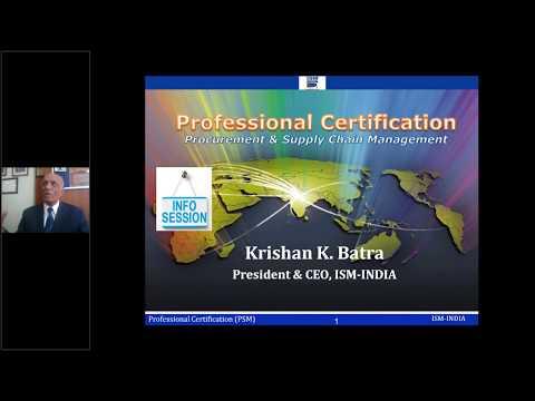 Procurement & Supply Chain Management (PROFESSIONAL ...