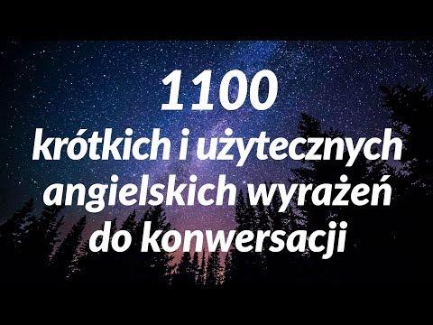 1100 krótkich i użytecznych angielskich wyrażeń do konwersacji (for Polish Speakers)