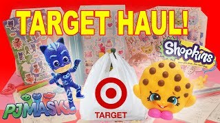 Giant Target Haul Surprises Unboxing with Shopkins, PJ Masks and NumNoms Prizes!