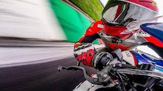 I TRIED WORLD CHAMPIONSHIP BMW S1000RR - LUCA SALVADORI @ TEAM BERCLAZ [English Subtitles]