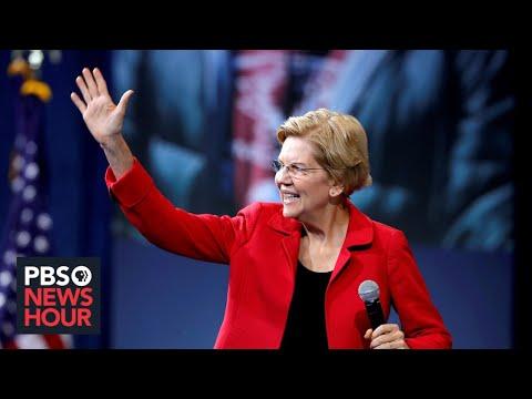 WATCH: Warren rolls out plan for '$800 billion investment' in public schools