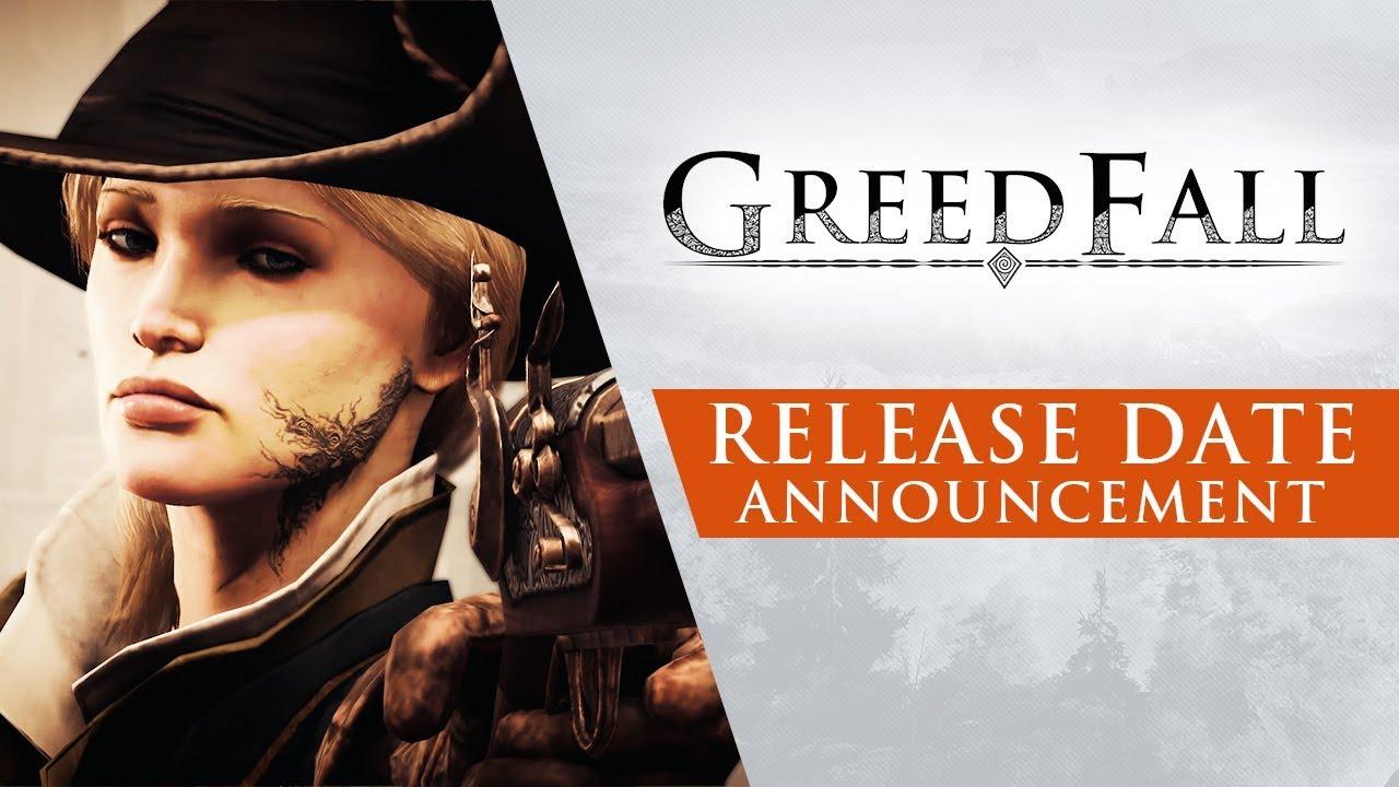 Annunciata la data di uscita di GreedFall