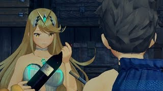 Rex Has Dinner With Pyra And Mythra But In Swimsuits! (Xenoblade Chronicles 2)
