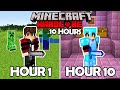 I Spent 10 Hours in Minecraft Hardcore