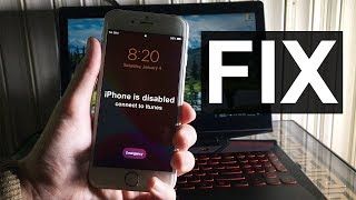 How to Unlock Disabled iPhone/iPad/iPod without iTunes or Passcode