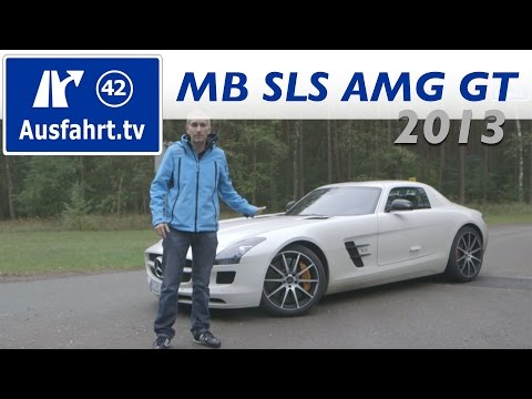 2013 Mercedes-Benz SLS AMG GT - Fahrbericht der Probefahrt / Test / Review