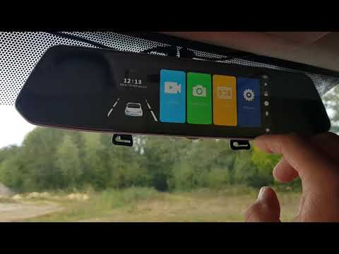 déjà commenté 【2018 Nouvelle Version】CHORTAU Dashcam Voiture Rétroviseur Écran Tactile de 7 Pouces F