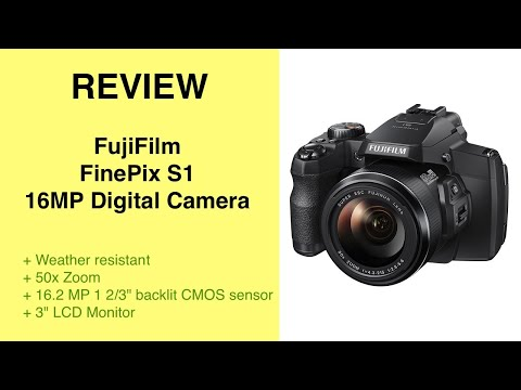 Review Fujifilm Finepix S1 digital camera
