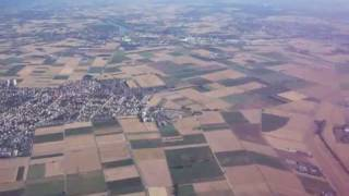 preview picture of video 'Above the Heddesheim area'
